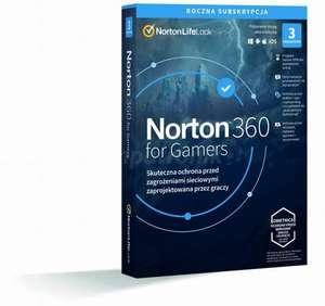 Antywirus Norton 360 for Gamers (licencja na 12 miesięcy, 3 stanowiska, 50GB chmura) @ Komputronik