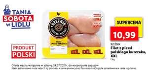 Filet z piersi polskiego kurczaka, cena za 1 kg