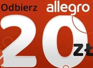 Kupon 20 zł na zakupy na Allegro