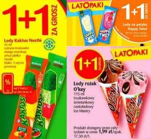 Lody Kaktus, Happy Twist i O'key: 1 + 1 za grosz