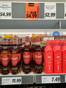 Whisky Grant's 1l Lidl Tychy