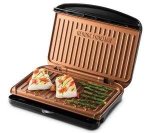 Elektryczny grill kontaktowy George Foreman Fit 25811-56 (miedziane płyty grzewcze) @ OleOle