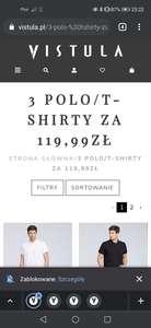 3x polo/t-shirt Vistula