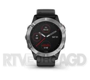Garmin Fenix 6 (czarno-srebrny) - RtvEuroAGD- tylko do 11ej