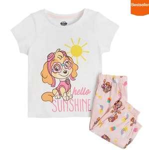 Piżama dziewczęca, biało-różowa, Skye, Psi Patrol, Cool Club (tylko rozm. 86)