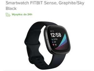 Smartwatch FITBIT Sense, Graphite/Sky Black NEONET