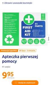 Apteczka pierwszej pomocy 41 elementów - Action