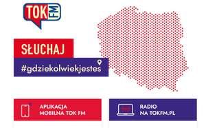 """Akcja radia TOK FM: """"Słuchaj gdziekolwiek jesteś"""" - kod premium na 3 miesiące"""