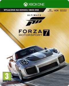 Xbox, Forza Motorsport 7 Ultimate Edition, islandzki sklep Xbox. Wersja standardowa za 29 zł. 15 września gra znika z cyfrowego sklepu
