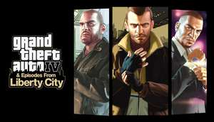 Grand Theft Auto IV: The Complete Edition GTA 4 (możliwe 15zł na argentyńskim Steamie)