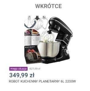 Robot planetarny Mozano Kitchen Assistent 2200W w mega okazjach allegro