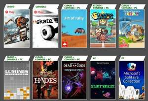 Xbox Game Pass - nowe tytuły m.in. Hades, Skate, Curse of the Dead Gods, Art of Rally, Dirt Rally, F1 2020 i więcej