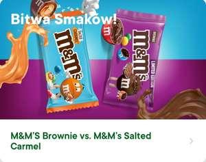 Zagłosuj na wybrany smak M&M's w aplikacji i zgarnij opakowanie za 1 żappsa - Żabka