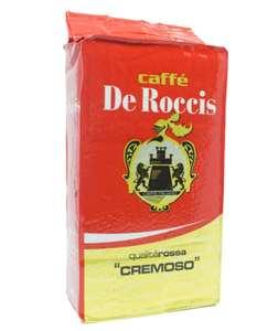 Caffe De Roccis - Całkiem smaczna kawa (250g) z krótkim terminem ważności (allegro smart od 40zł dostawa gratis)