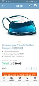 Generator pary Philips PerfectCare GC7840/20