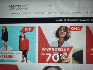 Aktualny kod rabatowy Regatta 10%