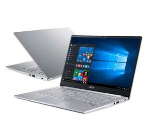 Laptop Acer Swift 3 R3-4300U/8GB/256/W10 Srebrny + bon 500 zł na zakup sprzętu marki Acer i Predator