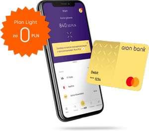 Konto w Aion Bank + wysyłka karty za darmo