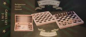 Szachy warcaby tryktrak (backgammon) 3w1 Rossmann