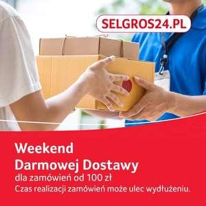 Weekend Darmowej Dostawy w Selgros MWZ 100zł