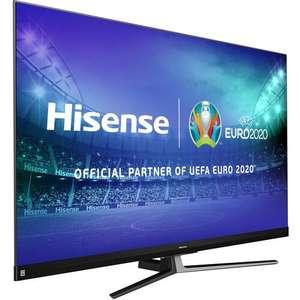 "Telewizor 65cali HISENSE 65U8QF 65"" QLED 4K 120Hz Dolby Atmos Full Array 3638,99 zł Mediaexpert"
