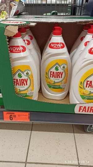 Fairy, płyn do mycia naczyń 1350 ml (5,18 za litr) Biedronka
