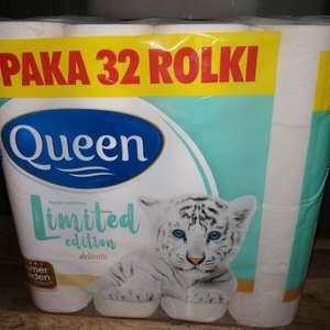 Papier toaletowy Queen limited edition 32 rolki 0,56zl/szt