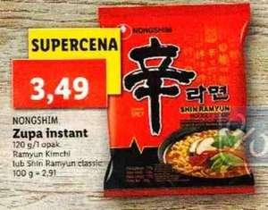 Zupa Shin Ramyun Classic lub Kimchi (120g) - Nongshim - Lidl
