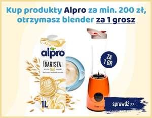 Blender Clatronic SM 3593 gratis przy zakupie produktów Alpro za min.200zł @ Bee.pl