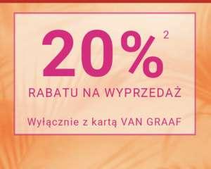 Van Graaf -20% na wyprzedaż.