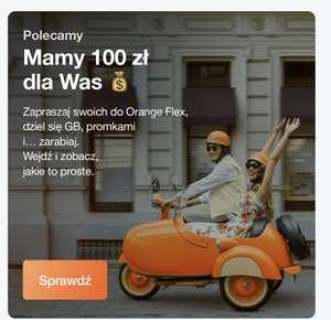 100 zł za polecenie Orange Flex