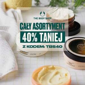The Body Shop -40% na cały asortyment na stronie