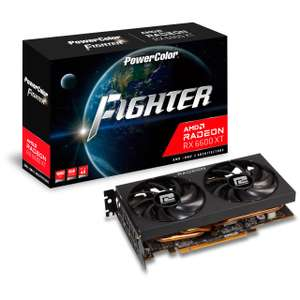 Karta graficzna 8GB PowerColor Radeon RX 6600 XT Fighter 379 Euro