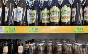 Piwo Miłosław w Dino