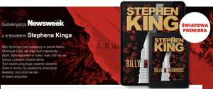 Subskrypcja Newsweek z najnowsza powieścią Stephena Kinga Billy Summers ebook