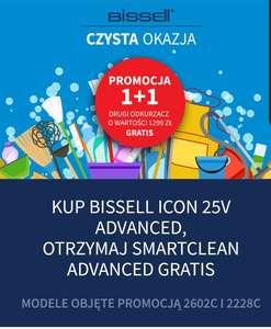 Odkurzacz Bissell 1 + 1 gratis