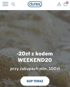 Durex -20zl MWZ 100zł