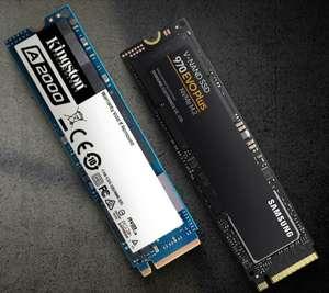 Dyski SSD w aplikacji mobilnej x-kom (np. Dysk WD 1TB M.2 PCIe NVMe Black SN750 za 549 zł)