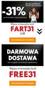 Rabat 31% lub darmowa dostawa nastopy.pl