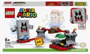 LEGO Super Mario, klocki Tarapaty w forcie Whompa, zestaw rozszerzający 71364