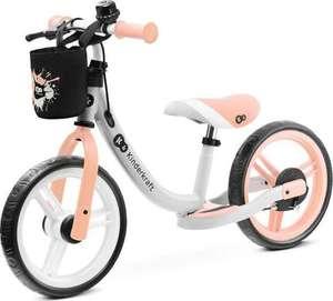 KinderKraft Rowerek biegowy Space 2021 Peach Coral z akcesoriami