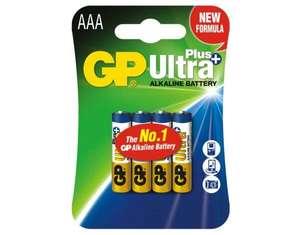 Baterie alkaliczne GP 24AUP-U4 4szt., odb.os. 0zł (akcja kupon GoodLuck na 13 zł- tylko 13sierpnia dla klubowiczów MM)