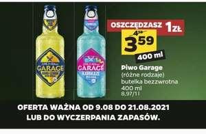 Piwo Garage za 3,59zl | Netto