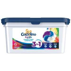 Kapsułki do prania COCCOLINO Color lub Black 29 szt. (0.55zł/szt) Darmowa dostawa przy 3 szt.