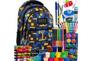 Plecak szkolny z wyprawką