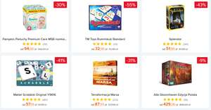 Gra planszowa - Rummikub, Splendor, Scrabble, Terraformacja Marsa, Gloomhaven @Ceneo