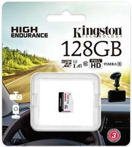 Karta pamięci microSDXC Kingston 128GB High Endurance