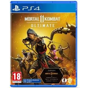 Mortal Kombat XI Ultimate Gra PS4 (Kompatybilna z PS5)