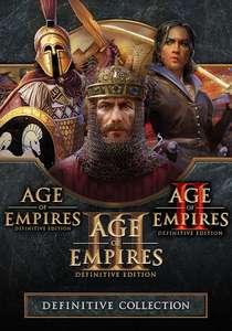 Age of Empires: Definitive Collection (I+II+III) za 58 zł / AoE: DE za 16,40zł [STEAM]