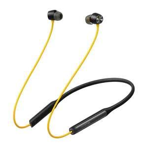 Słuchawki realme Buds Wireless Pro Party Yellow (żółto/czarne)